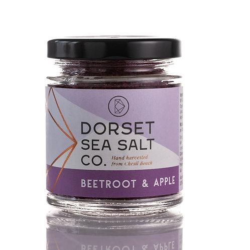 Beetroot and Apple Infused Dorset Sea Salt 125g