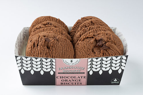Farmhouse Biscuits - Chocolate Orange - 200g