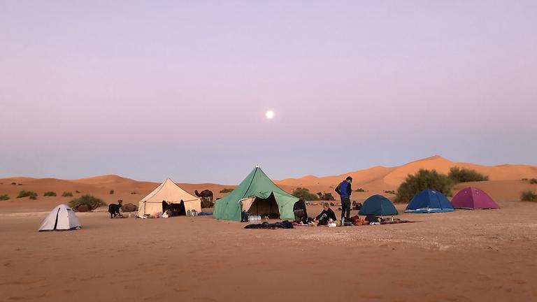 Woestijnretraite 'Stillness' VII - Marokko