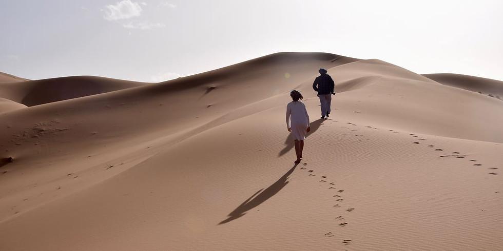 GEANNULEERD Woestijnretraite 'Stillness' VI - Marokko -