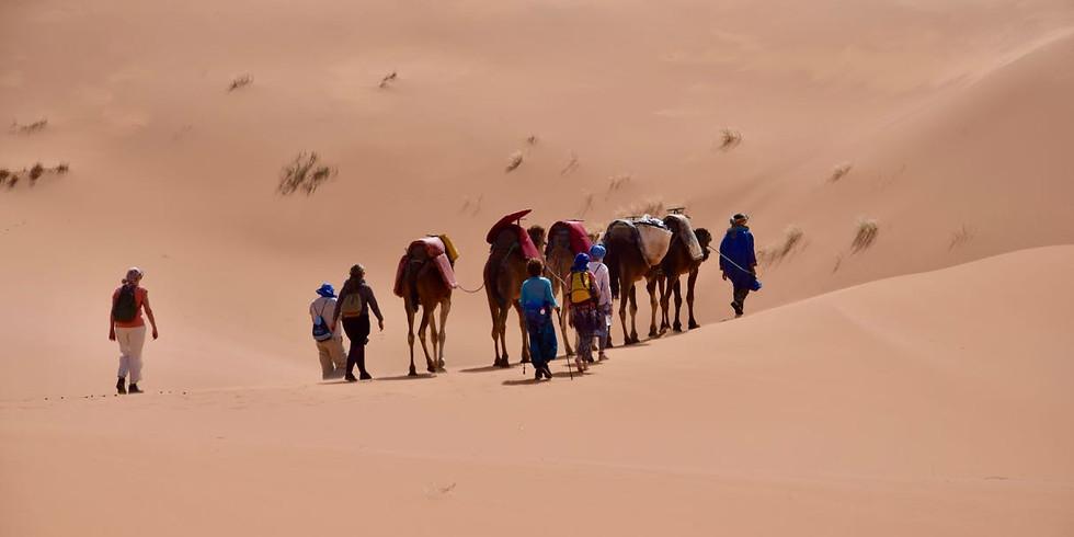Woestijnretraite 'Stillness' V - Marokko