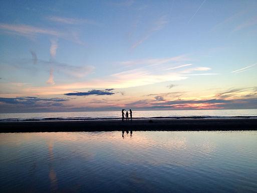 Stiltedag aan Zee