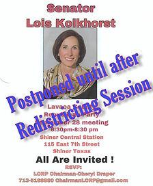 Lois K postponed.jpg