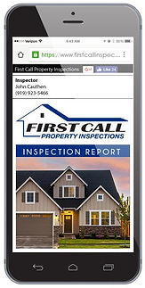 First Call Inspection Report