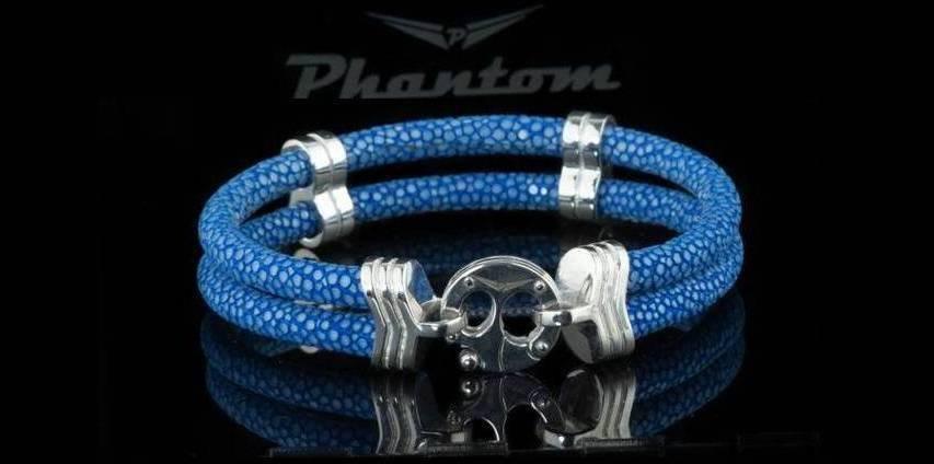 Blue Stingray Bracelet