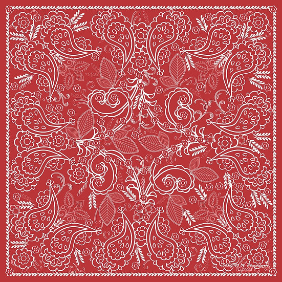 Euphoria silk handkerchief