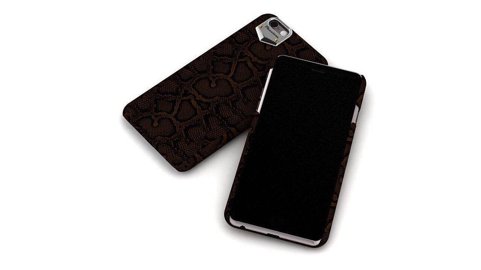 Brown python iphone 6/7/8 case