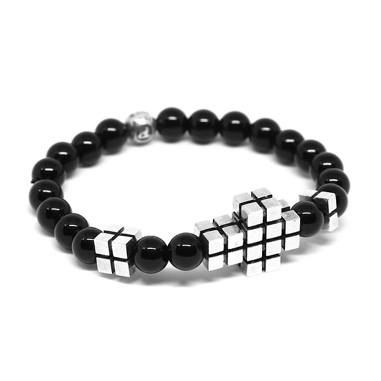 Cube Cross Bracelet