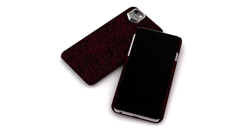 Dark red iphone 6/7/8 case