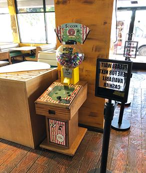 Interactive Sports Vending Machine