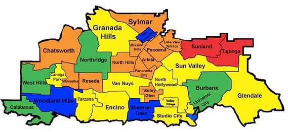 Map of San Fernando Valley.png
