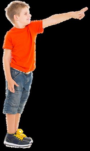 Boy Pointing in Orange shirt.png