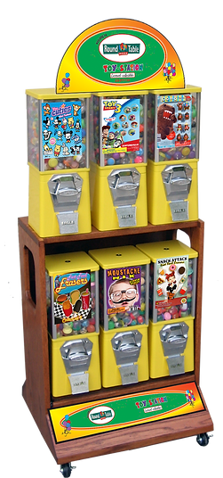6 selection toy station all 1%22 merchan
