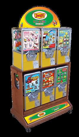 Toy Station Sticker Machines