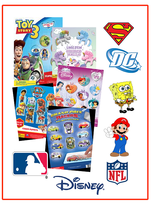 License Collectible Capsule Toys