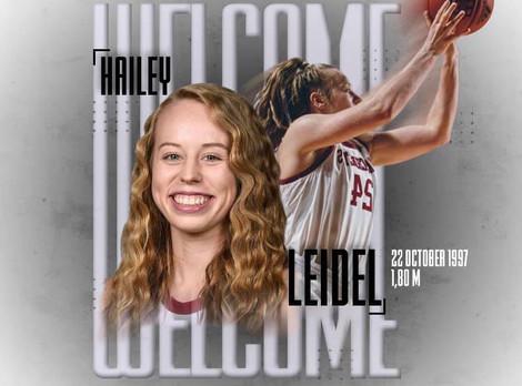 Hailey Leidel joins Sparta women's team