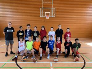 U14 team prepares the season in Echternach