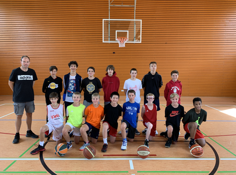 U14 team prepares the season in Echternach