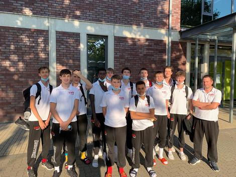 U16 win 2 and lose 2 in Düsseldorf