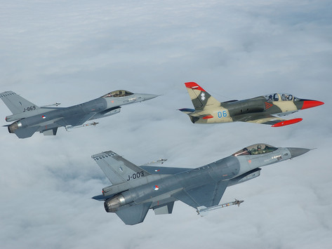 2005 Dutch F-16 fighters in Lithuania