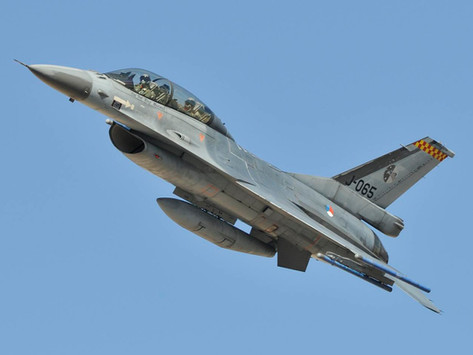 2011 The Dutch F-16s are back at Tucson IAP