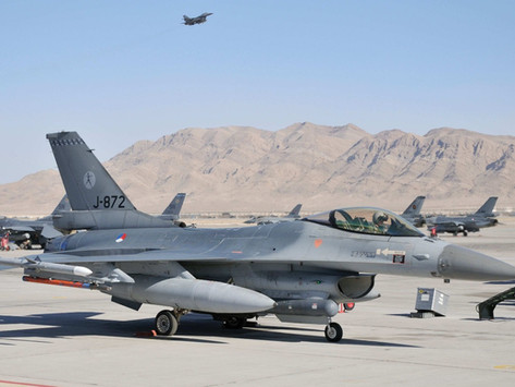 2009 RNLAF F-16s back at Nellis AFB