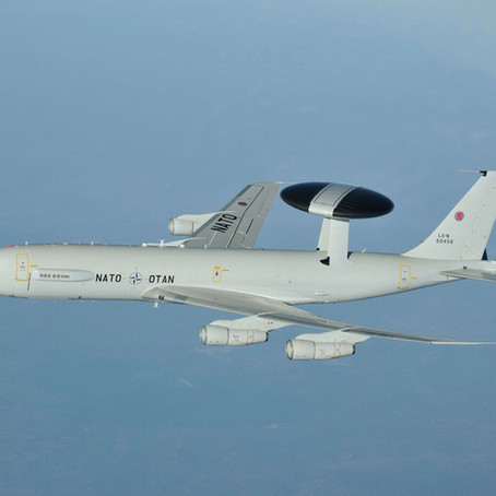 2011 NATO E-3s during Operation Unified Protector