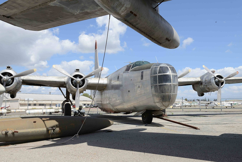 The Privateer was the Navy's modified version of the Consolidated B-24.