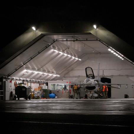 2008 Night flying at Leeuwarden air base