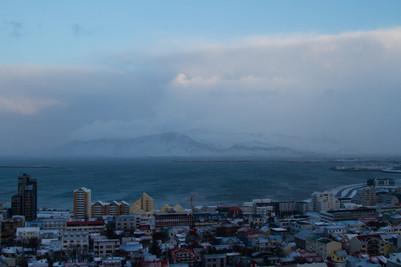 Reykjavik in the Sky