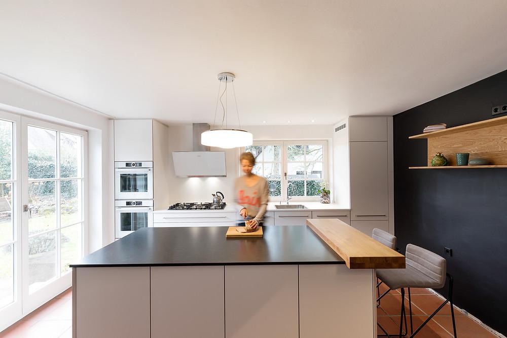 Ideale Höhe der Kücheninsel