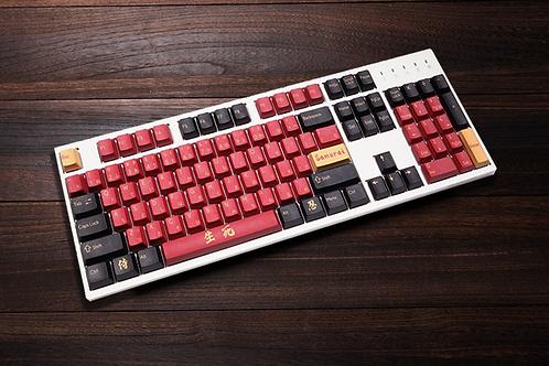 Red Samurai Colorway PBT Keycaps
