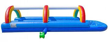 Water slide, slip and slide