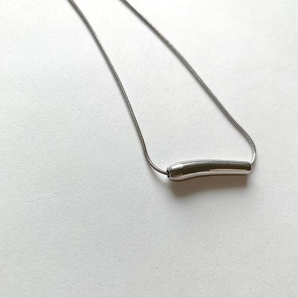 Tube motif necklace_sp282