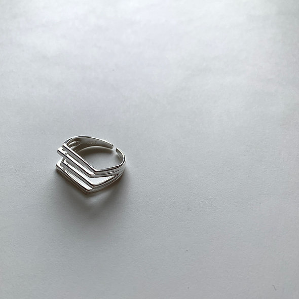 Line Motif Ring_Silver925_sp278