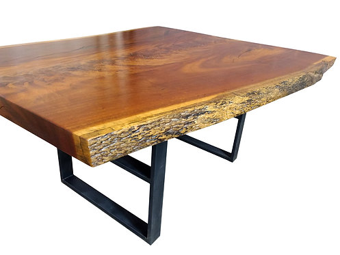 Live Edge Tigerwood Dining Table