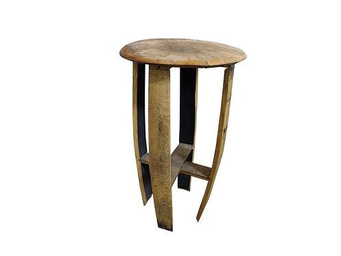 Reclaimed Jim Beam Barrel Side Table
