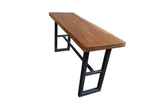 Live Edge Spanish Cedar Console Table