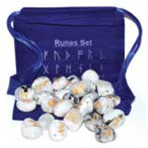 Rainbow Rune Stone Set with Pouch