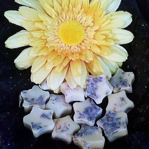 Lavender and Lemon Mini Bath Melts ~ 15 in a decorative bag.