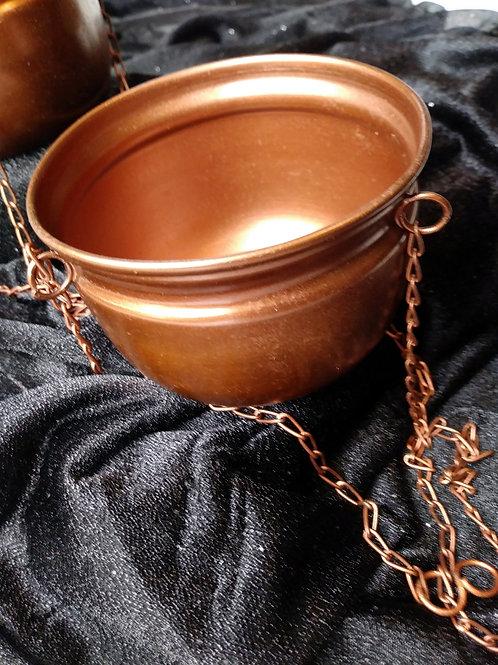 Copper Hanging Incense Burner Bowls