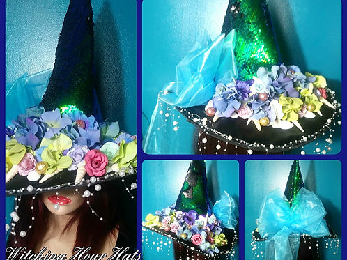 Mermaid Witch Hat ~
