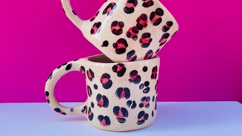LEOPARD red hot leopard spots