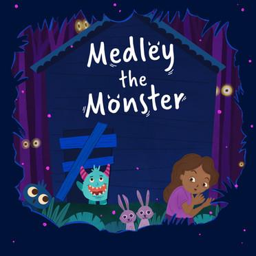 Medley the Monster Illustrations