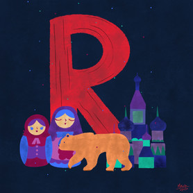 R for Russia