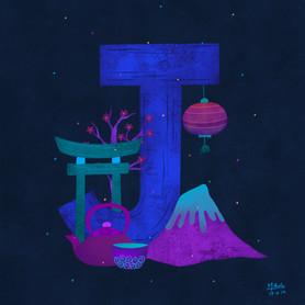 J for Japan