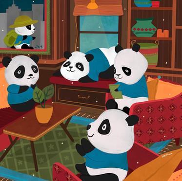 Quarantine Panda