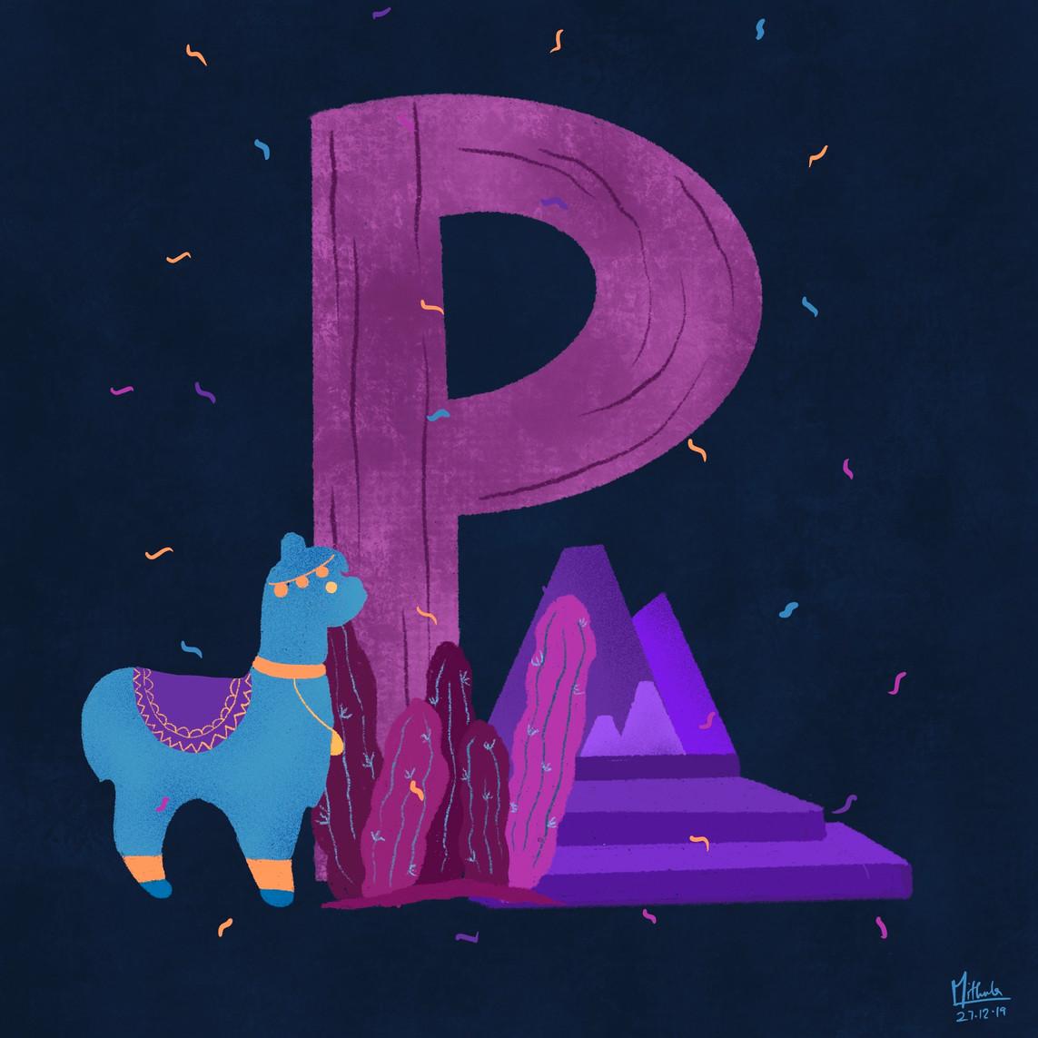 P for Peru