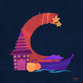 C for Cambodia