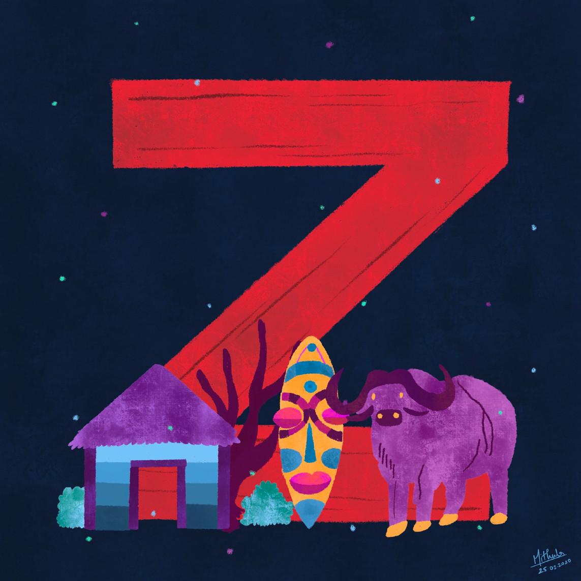 Z for Zimbabwe